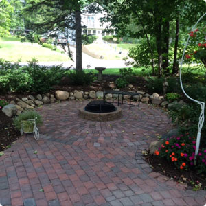 Paver walkways and driveways